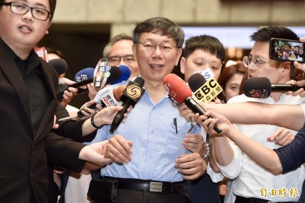 民進黨選對會16日決議,要自提北市長人選,不再禮讓台北市長柯文哲。(記者羅沛德攝)