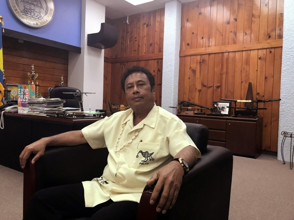 面對中國旅遊禁令,雷蒙傑索表示帛琉觀光重質不重量。(路透)