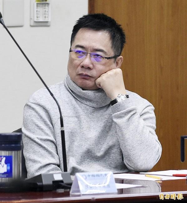國民黨政策執行長蔡正元。(資料照,記者陳志曲攝)