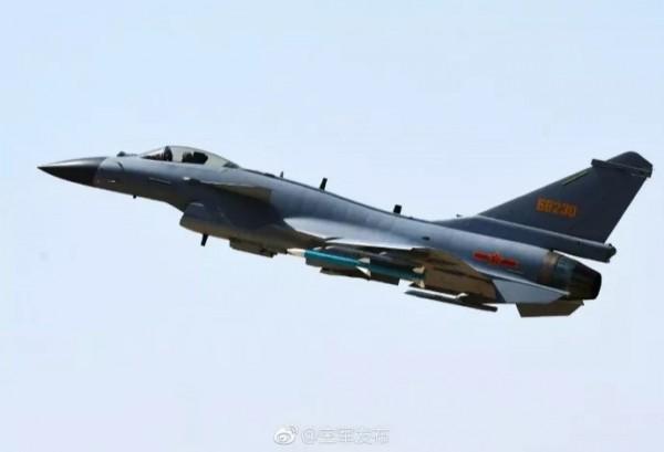 中國空軍殲-10C戰機。(圖擷取自中國空軍網)