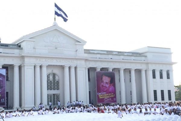總統蔡英文參加奧蒂嘉總統就職典禮。(中央社)