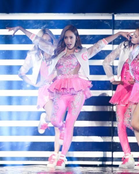 前南韓女子天團少女時代成員潔西卡今年將現身桃園跨年晚會,陪粉絲一起倒數。(資料照,記者王文麟攝)