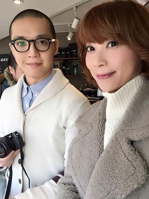貴婦奈奈與老公黃博健。(翻攝自臉書)