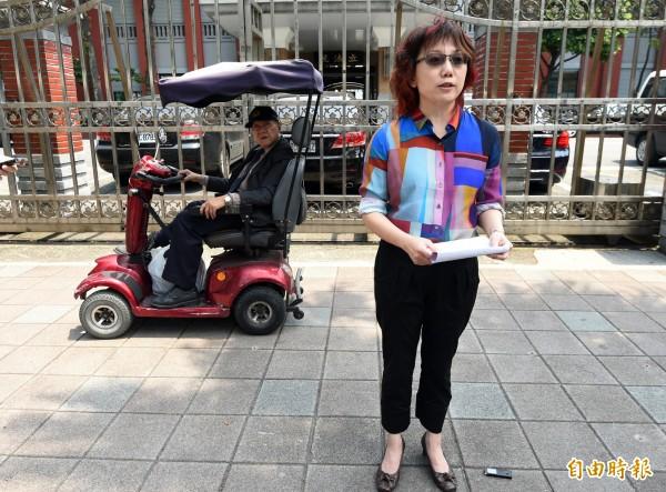 社民黨召集人范雲認為民進黨主席蔡英文「放假放太多」的言論很離譜。(資料照,記者羅沛德攝)