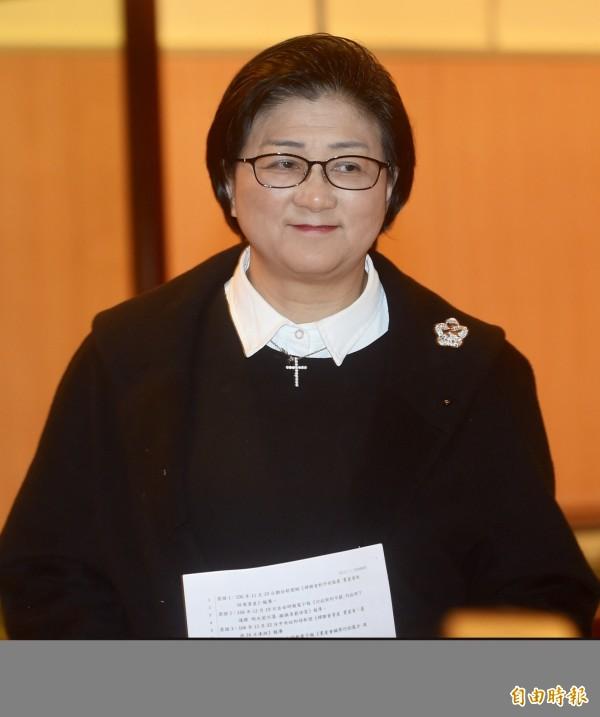 婦聯會主委雷倩凌晨在臉書有感而發地說,「很多人警告我們,綿密的政商權勢,足以湮滅證據掩蓋真相。」(資料照)