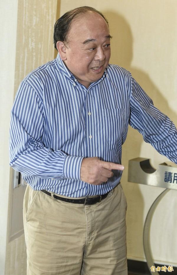 退休將領吳斯懷。(資料照,記者陳志曲攝)