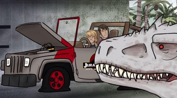 20年沒發動的吉普車,只換了電瓶就可以開。(圖片擷取自YouTube)