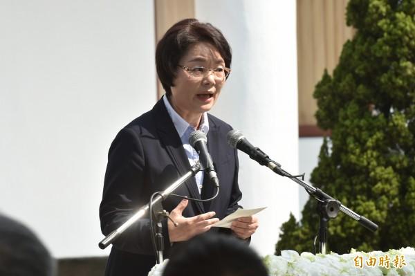 陳翠蓮對台大自主行動聯盟籌備會的遊行決定表示,「和八百壯士太像,對台大形象不好吧」。(資料照)