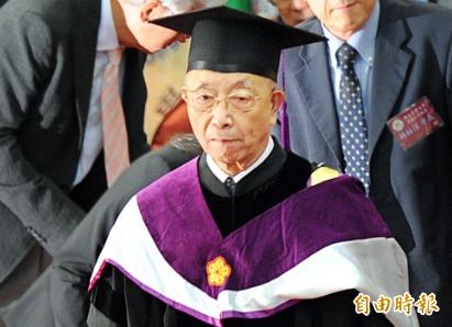 中研院院士胡佛今晚不幸病逝於台大醫院,享壽86歲。(資料照,記者方賓照攝)