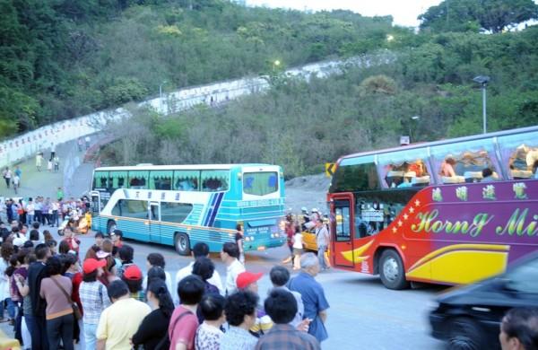 中國因政治問題限制中客組團來台,如今因薩德系統,使韓國也成為旅遊禁令的一環。(資料照,記者張忠義攝)