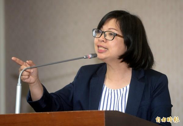韓國瑜、張榮味「菜蟲竟變救星」, 林淑芬嘆:沒是非黑白了。(資料照)
