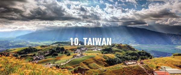 台湾获英国权威旅游指南「Rough Guides」评选为10大必访国家。(图撷自Rough Guides)