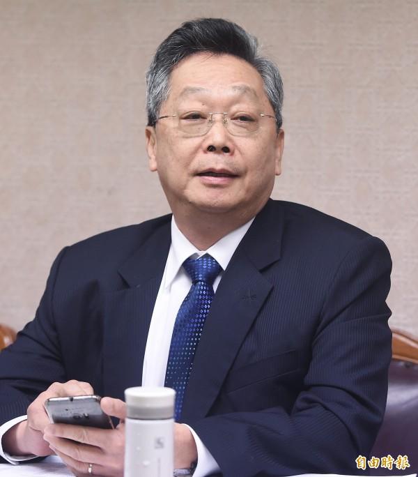 役政署長林國演(見圖)今早向內政部長表達辭意。(資料照,記者廖振輝攝)