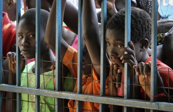 南蘇丹仍處於內戰狀態中,許多難民流離失所。(美聯社)