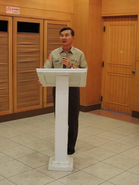 國防部參事潘進隆中將接任總統府侍衛長。(資料照,記者黃旭磊攝)