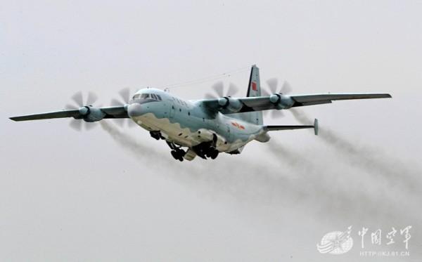 中國西部戰區空軍運-9飛機。(圖擷取自中國空軍網)