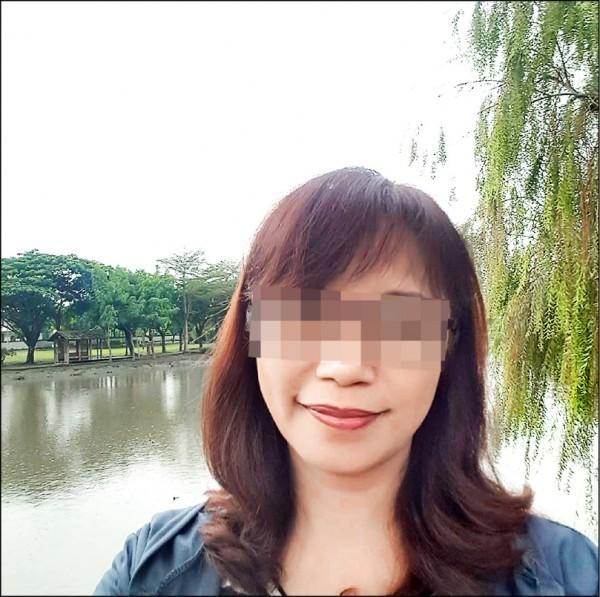 鍾姓老闆娘心臟中刀,今凌晨拔管宣告不治。(擷取自臉書)