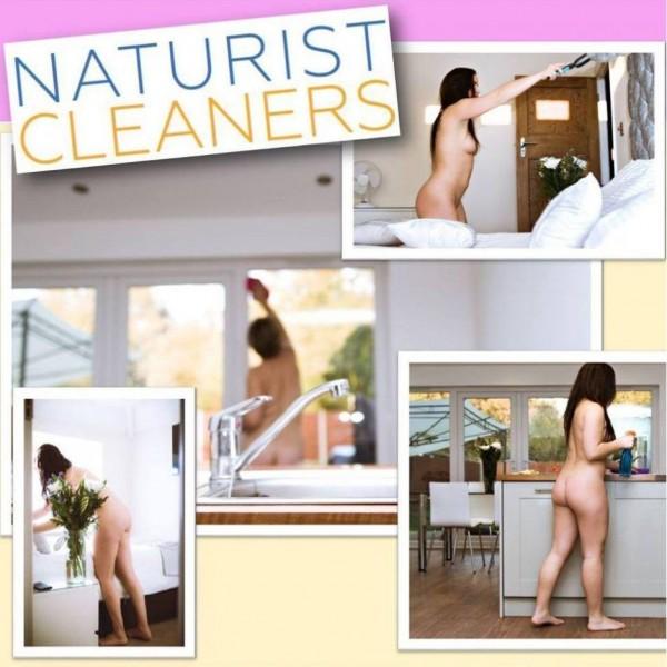 英國一間清潔公司近日發出招聘「裸體清潔工」的訊息,讓網友笑稱宛如A片情節。(圖擷自太陽報)