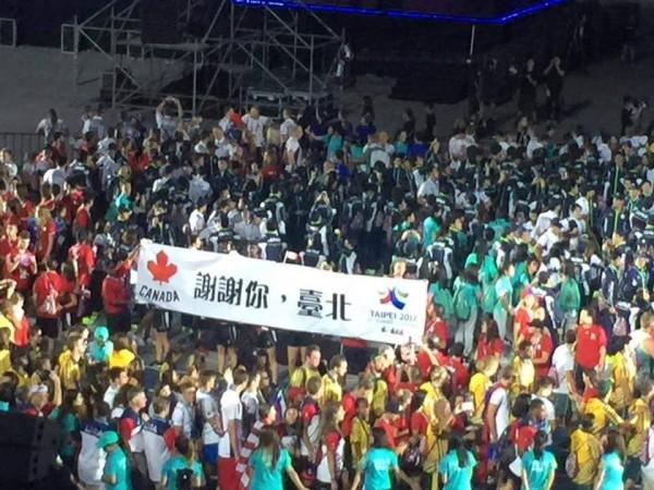 在台灣被感動! 加拿大代表團做這件事感謝...