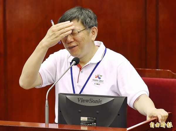 台北市長柯文哲明年能否連任成為各界關注焦點,有媒體報導指出,立委王定宇認為民進黨在台北市有勝算,人選提名不一定要禮讓。(資料照,記者廖振輝攝)