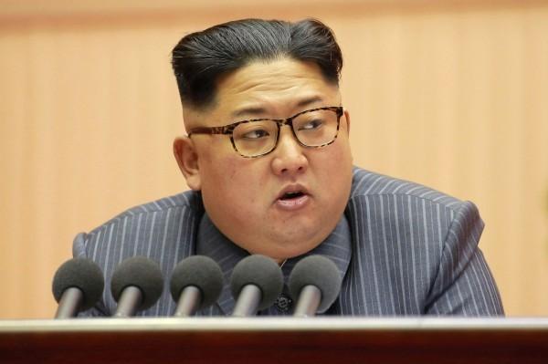 北韓最高領導人金正恩。(法新社)