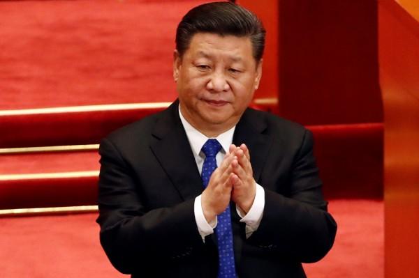 擔心中國國家主席習近平(圖)稱帝的,被觀察指向中國政治精英及有錢階級。(路透)
