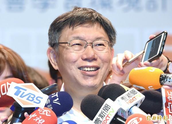 週刊報導,綠營確定不禮讓台北市長柯文哲,關鍵在5月初的一場密會上,柯文哲嗆民進黨就算自提人選,他也會連任成功,惹怒在場綠營人士。(資料照)