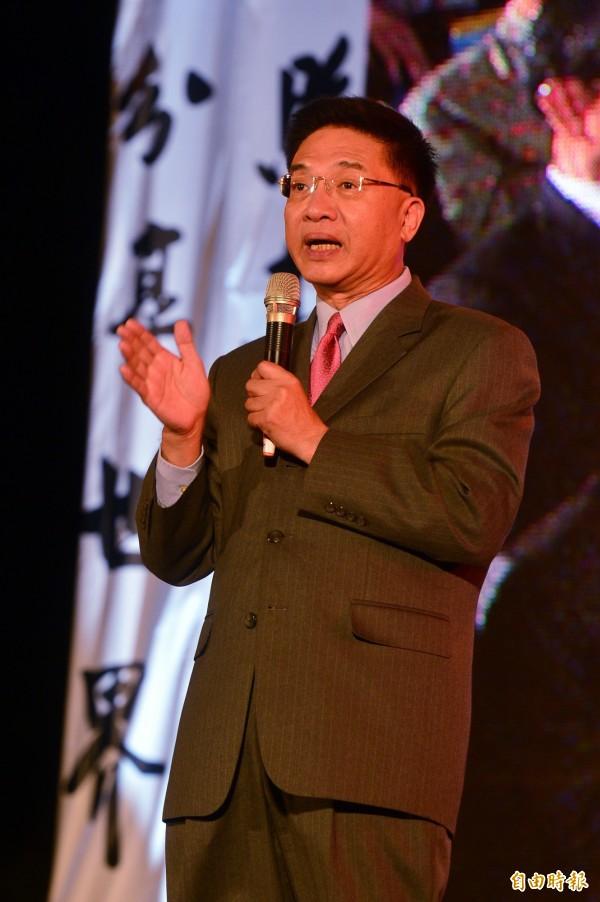 胡忠信表示,兆豐銀是外交部跟交通部的小金庫,國民黨曾用來把黨產洗到國外,連董事長都不知道。(資料照,記者王藝菘攝)