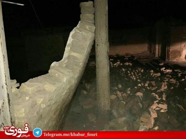 房子垮的垮、倒的倒。(圖取自earthquakereport)