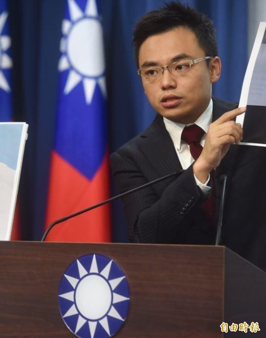 立法院通過修正勞基法,國民黨發言人洪孟楷今召開記者會痛批。(資料照,記者簡榮豐攝)