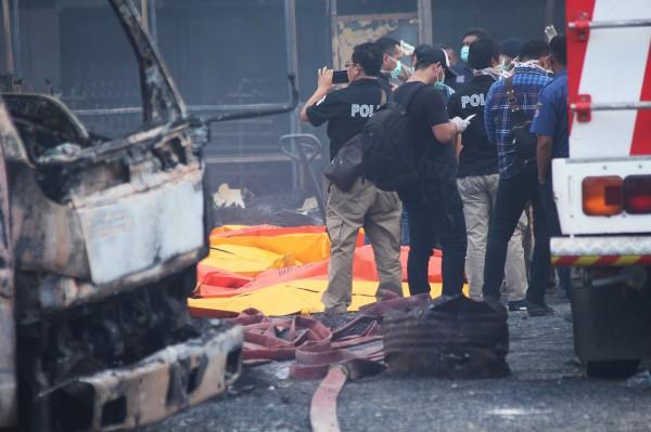 印尼坦格朗一家煙火工廠週四(26日)爆炸,已造成至少47人罹難。(法新社)
