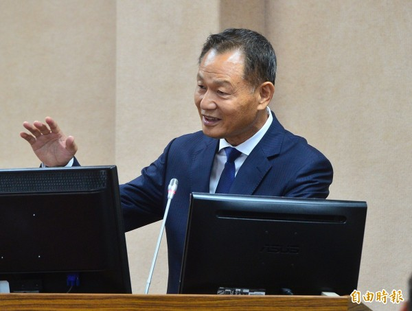 立法院國防外交委員會,今天邀請退輔會主委李翔宙做業務報告及備詢。(記者王藝菘攝)