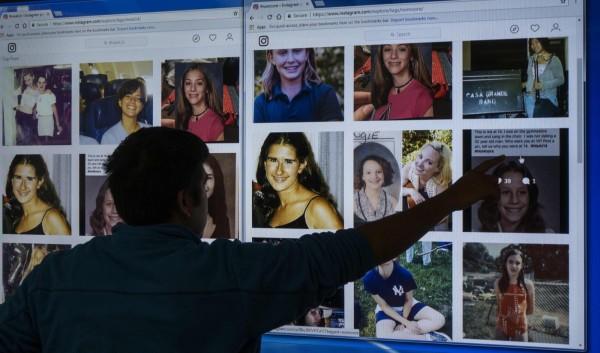 近日網友紛紛使用標籤「#14歲的我」(#MeAt14),並張貼出自己14歲時的照片,藉此凸顯14歲的孩子還沒有能力來同意跟成年人發生性關係。(法新社)