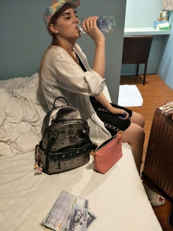 在台灣賣淫的泰國籍變性人「莉蒂」在落腳的旅館被警方逮捕。(資料照)