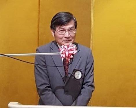 我國駐大阪辦事處長蘇啟誠今天上午驚傳在大阪官邸輕生。(圖擷自臉書)