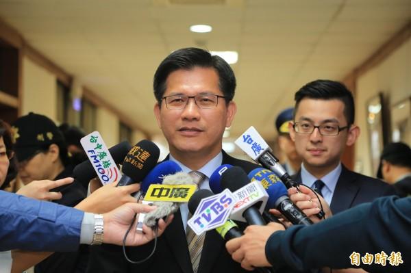 現任台中市長、前民進黨立委林佳龍等人提案的《宗教團體法》版本,也有類似規定。(資料照,記者歐素美攝)