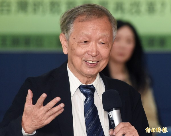 清華大學榮譽教授李家同。(資料照)