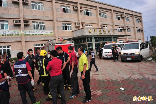 位在屏東縣恆春鎮的南門護理之家今清晨約5點發生嚴重火警,導致4名長者不幸罹難,以及55人受傷。(資料照,記者蔡宗憲攝)