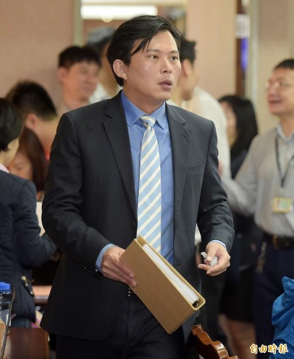 時代力量黨團立委黃國昌。(記者黃耀徵攝)