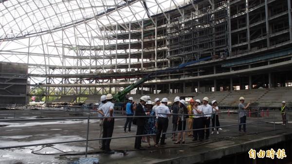 大巨蛋未按圖施工遭停業2年 2監造建築師覆審被駁回