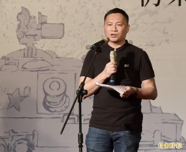 中國民運人士王丹,今發表對新黨王炳忠等4人受詢問的看法。他譏諷王炳忠「只被傳喚就哭、加油好嗎?」(資料照,記者黃耀徵)