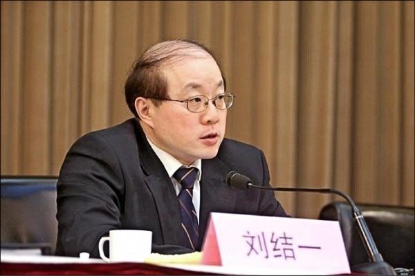 中國國台辦主任劉結一昨直接點名行政院長賴清德說:「他就是個台獨!」 還說福建軍演是為捍衛「祖國主權和領土完整」。(資料照)