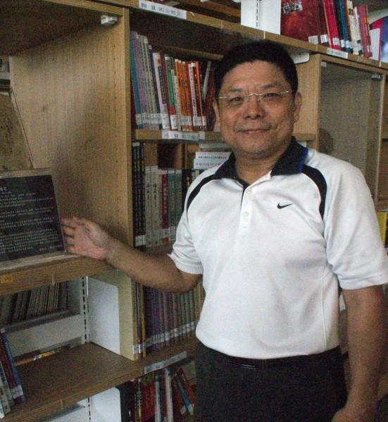 高雄市圖總館長施純福將出任台中市文化局副局長。(資料照,記者黃佳琳攝)