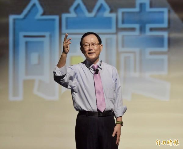 前立委丁守中18日宣布參選台北市長。(資料照,記者黃耀徵攝)
