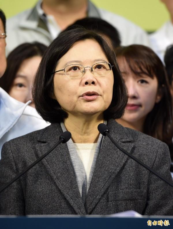 最後一哩路!蔡英文發出動員 「三張選票救台灣」