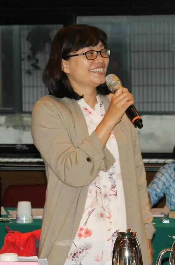 彰化地檢署檢察官莊珂惠對嗆聲一事表示不後悔,是做應該做的事。(翻攝彰化地檢署臉書)