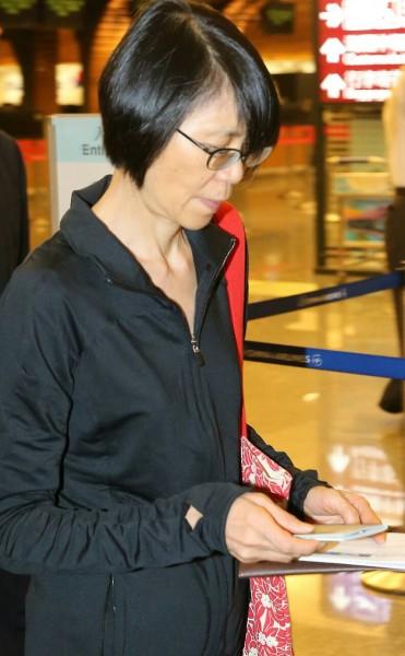 總統夫人周美青昨晚率台北愛樂交響樂團前往歐洲演出,這也是周美青第一次受邀為榮譽團長。(記者姚介修攝)