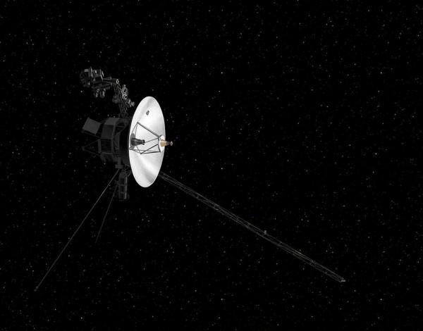 航海家2號於1977年發射升空,擔負探測太陽系外圍行星的任務。(法新社)