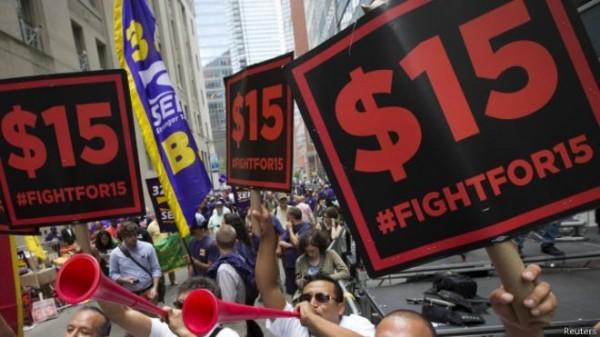 紐約通過提高速食店薪資 時薪280調到466
