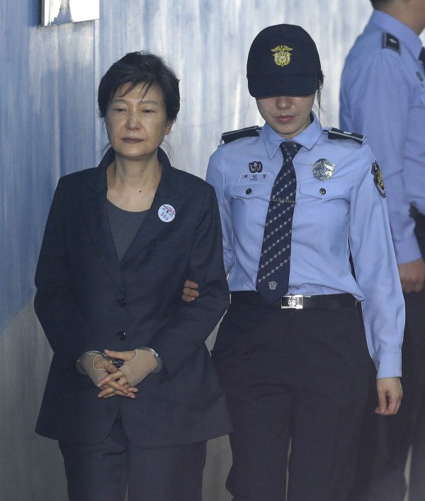 南韩前总统朴槿惠,因贪污丑闻自今年3月31日起被拘留。(美联社)
